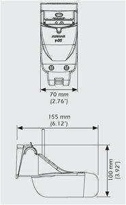 P66 Airmar transducer shredder 31-680-1-01