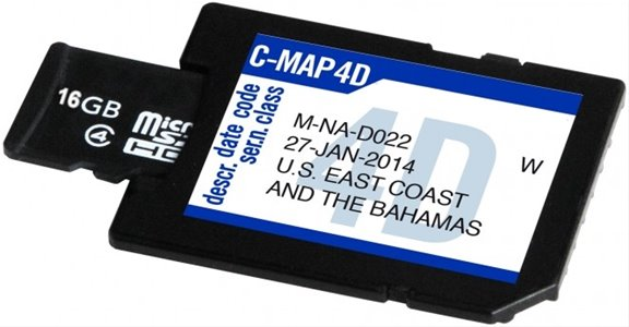 SD Blank 16 Gb C-Map