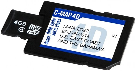 SD Blank 4 Gb C-Map